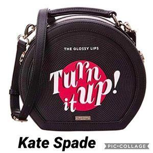Kate spade turn it up record player Crossbody Bag